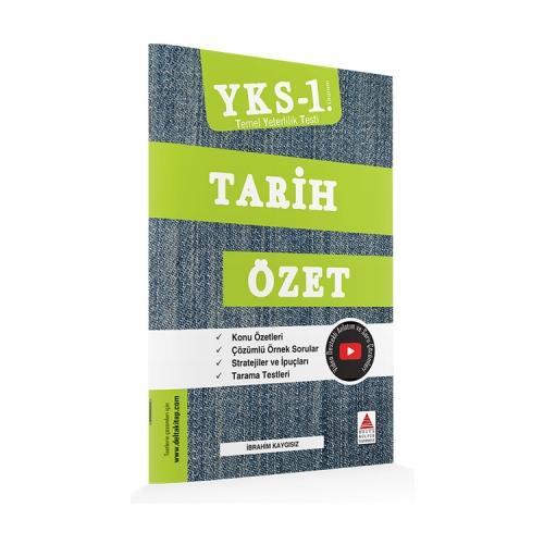 Delta Kültür Yayınları TYT Tarih Özet