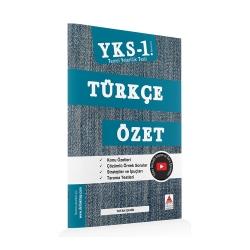 Delta Kültür Yayınları - Delta Kültür Yayınları TYT Türkçe Özet