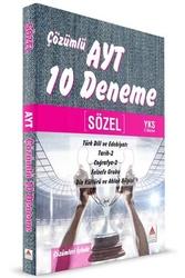 Delta Kültür Yayınları - Delta Kültür Yayınları YKS 2. Oturum AYT Sözel Çözümlü 10 Deneme