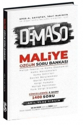 Anıl Ulaş Girgin - 2021 KPSS A Grubu DEMASO Maliye Özgün Soru Bankası 4. Baskı Anıl Ulaş Girgin