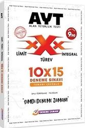 Deneme Zamanı - Deneme Zamanı AYT Tamamı Çözümlü Limit Türev İntegral 10x15 Deneme Sınavı