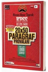 DenemeBank - DenemeBank KPSS ALES DGS 20x50 Paragraf Provaları