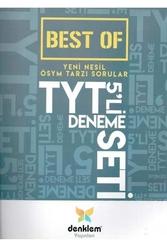 Denklem Yayınları - Denklem Yayınları TYT Best Of 5li Deneme Seti