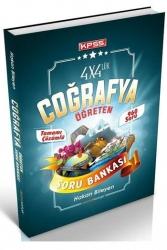 Destek Kariyer Yayınları - Destek Kariyer 2021 KPSS Coğrafya 4x4 lük Öğreten Soru Bankası Çözümlü