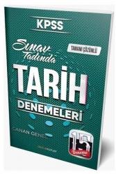 Destek Kariyer Yayınları - Destek Kariyer Yayınları 2021 KPSS Tarih Çözümlü 15 Deneme