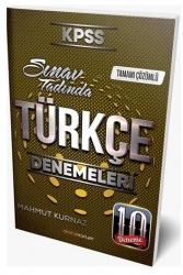 Destek Kariyer Yayınları - Destek Kariyer Yayınları 2021 KPSS Türkçe Çözümlü 10 Deneme