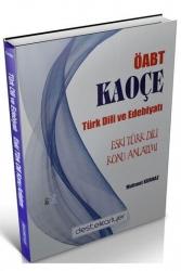 Destek Kariyer Yayınları - Destek Kariyer Yayınları 2021 ÖABT Türk Dili ve Edebiyatı Eski Türk Dili KAOÇE Konu Anlatımı