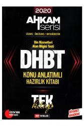 DDY Yayınları - DHBT Ahkam Serisi Tüm Adaylar Konu Anlatımlı Hazırlık Kitabı DDY Yayıları