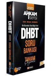DDY Yayınları - DHBT AHKAM SERİSİ Tüm Adaylar Tamamı Çözümlü Soru Bankası DDY Yayınları