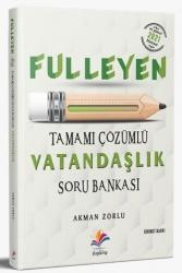 Dizgi Kitap - Dizgi Kitap 2021 KPSS Fulleyen Vatandaşlık Tamamı Çözümlü Soru Bankası