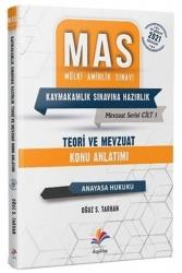 Dizgi Kitap - Dizgi Kitap 2021 MAS Anayasa Hukuku Teori ve Mevzuat Konu Anlatımı