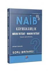 Dizgi Kitap - Dizgi Kitap Yayınları 2021 NAİB Kaymakamlık İktisat Çözümlü Soru Bankası