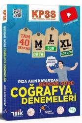 Doktrin Yayınları - Doktrin Yayınları 2021 KPSS Coğrafya Bedene Göre 40 Adet Deneme Sınavı