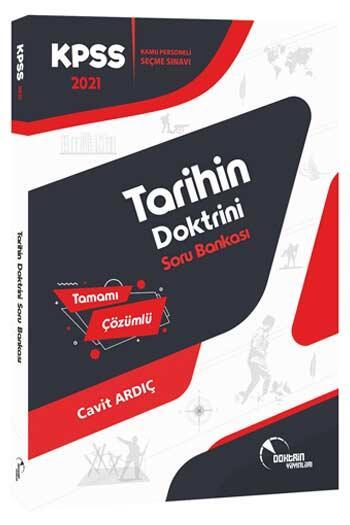 Doktrin Yayınları - Doktrin Yayınları 2021 KPSS Tarih Tamamı Çözümlü Soru Bankası