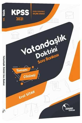 Doktrin Yayınları - Doktrin Yayınları 2021 KPSS Vatandaşlık Tamamı Çözümlü Soru Bankası