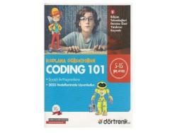Dörttedört Yayınları - Dörtrenk Yayınları Coding 101 Kodlama Öğreniyorum