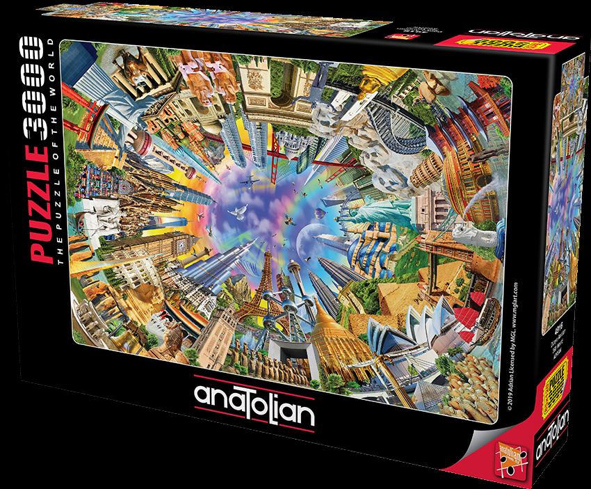 Anatolian - Dünya Anıtları / 360 World