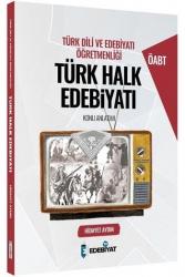 Edebiyat TV Yayınları - Edebiyat TV Yayınları 2021 ÖABT Türk Dili ve Edebiyatı Öğretmenliği Türk Halk Edebiyatı Konu Anlatımı