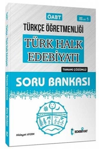 Edebiyat TV Yayınları 2020 ÖABT Türkçe Öğretmenliği Türk Halk Edebiyatı Çözümlü Soru Bankası