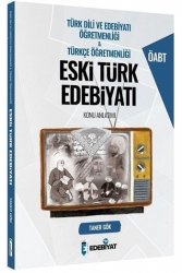 Edebiyat TV Yayınları - Edebiyat TV Yayınları 2021 ÖABT Türkçe Türk Dili Edebiyatı Öğretmenliği Eski Türk Edebiyatı Konu Anlatımı