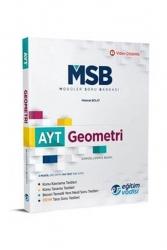 Eğitim Vadisi Yayınları - Eğitim Vadisi Yayınları AYT Geometri Güncel MSB Modüler Soru Bankası