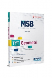 Eğitim Vadisi Yayınları - Eğitim Vadisi Yayınları TYT Geometri Modüler Soru Bankası Video Çözümlü