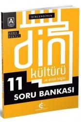 Eker Test Yayınları - Eker Test Yayınları 11.Sınıf Din Kültürü ve Ahlak Bilgisi Dinlendiren Konu Özetli Soru Bankası