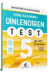 Eker Test Yayınları - Eker Test Yayınları 5.Sınıf Din Kültürü ve Ahlak Bilgisi Dinlendiren Test
