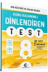 Eker Test Yayınları - Eker Test Yayınları 8.Sınıf Din Kültürü ve Ahlak Bilgisi Dinlendiren Test