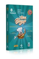 Ekstra Yayıncılık - Ekstra Yayınları 8. Sınıf LGS Türkburger Türkçe Soru Bankası