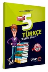 Eküri Yayınları - Eküri Yayınları 2021 TYT Türkçe 5 Deneme Sınavı