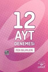 Endemik Yayınları - Endemik Yayınları AYT Fen Bilimleri 12 Denemesi