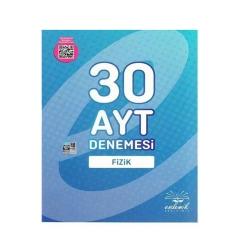 Endemik Yayınları - Endemik Yayınları AYT Fizik 30 Deneme