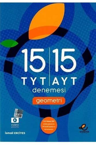 Endemik Yayınları TYT AYT Geometri 15'li Denemeleri