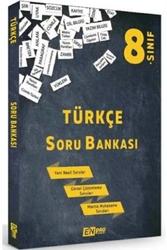 Enpro Yayıncılık - Enpro Yayınları 8. Sınıf Türkçe Soru Bankası