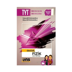 ENS Yayıncılık - ENS Yayıncılık TYT Fizik Destek Soru Bankası