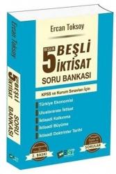 EST Yayıncılık - EST Yayıncılık KPSS ve Kurum Sınavları İçin 5 Beşlik Beşli İktisat Soru Bankası 2. Baskı