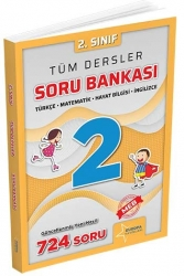 Europa Yayınları - Europa Yayınları 2. Sınıf Tüm Dersler Soru Bankası