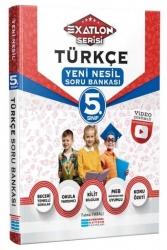Evrensel İletişim Yayınları - Evrensel İletişim Yayınları 5. Sınıf Türkçe Video Çözümlü Soru Bankası (Exatlon Serisi)