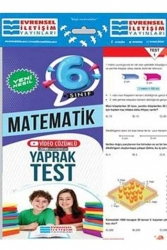 Evrensel İletişim Yayınları - Evrensel İletişim Yayınları 6. Sınıf Matematik Yeni Nesil Video Çözümlü Yaprak Test