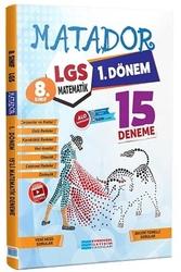 Evrensel İletişim Yayınları - Evrensel İletişim Yayınları 8. Sınıf LGS 1.Dönem Matematik Matador Video Çözümlü 15'li Deneme
