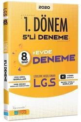 Evrensel İletişim Yayınları - Evrensel İletişim Yayınları 8. Sınıf LGS 1.Dönem Video Çözümlü 5'li Deneme Sınavı