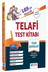 Evrensel İletişim Yayınları - Evrensel İletişim Yayınları 8. Sınıf LGS'ye Hazırlık Tüm Dersler Telafi Video Çözümlü Test Kitabı