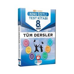 Evrensel İletişim Yayınları - Evrensel İletişim Yayınları 8.Sınıf Tüm Dersler Konu Özetli Video Çözümlü Test Kitabı