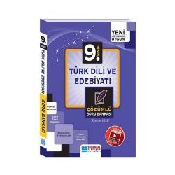Evrensel İletişim Yayınları - Evrensel İletişim Yayınları 9. Sınıf Türk Dili ve Edebiyatı Video Çözümlü Soru Bankası