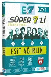 Evrensel İletişim Yayınları - Evrensel İletişim Yayınları AYT Eşit Ağırlık Süper 7'li Deneme
