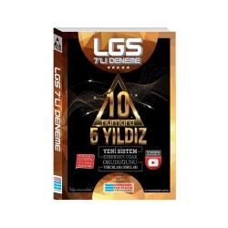 Evrensel İletişim Yayınları - Evrensel İletişim Yayınları LGS 10 Numara 5 Yıldız Video Çözümlü 7'li Deneme