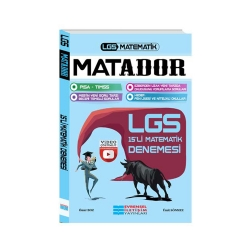 Evrensel İletişim Yayınları - Evrensel İletişim Yayınları LGS Matador Matematik Video Çözümlü 15'li Deneme