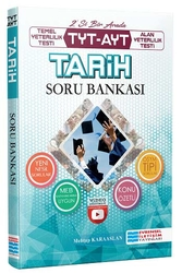 Evrensel İletişim Yayınları - Evrensel İletişim Yayınları TYT AYT Tarih Video Çözümlü Soru Bankası