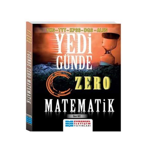 Evrensel İletişim Yayınları YKS-TYT-KPSS-DGS-ALES Yedi Günde Zero Matematik
